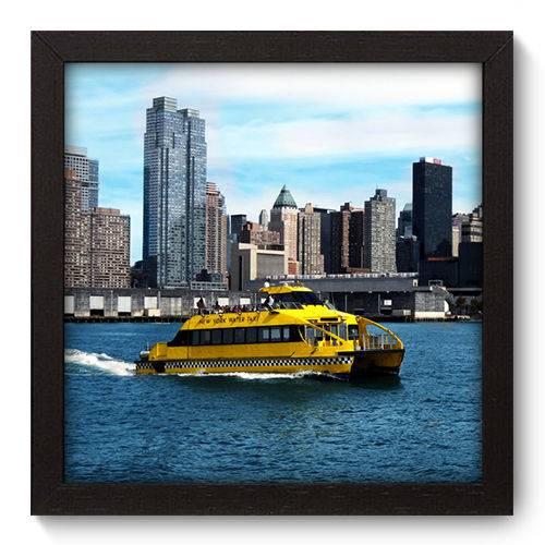 Quadro Decorativo - New York - 22cm X 22cm - 085qnmap