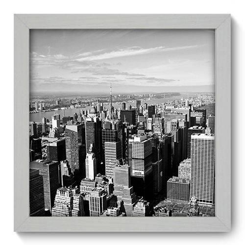Quadro Decorativo - New York - 22cm X 22cm - 089qnmab