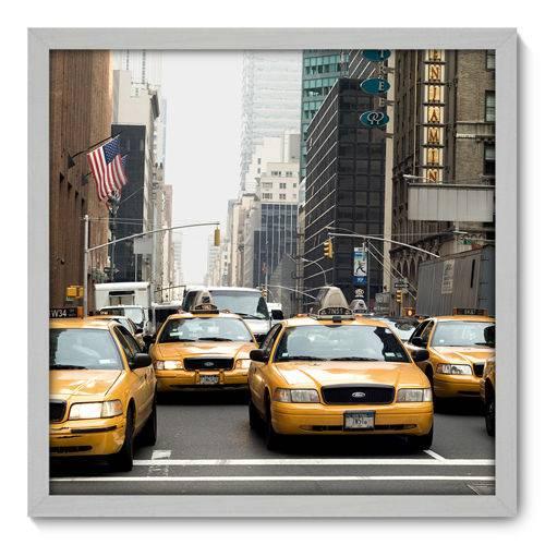Quadro Decorativo - New York - N3005 - 50cm X 50cm