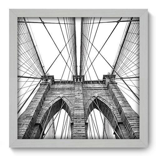 Quadro Decorativo New York N2006 33cm X 33cm