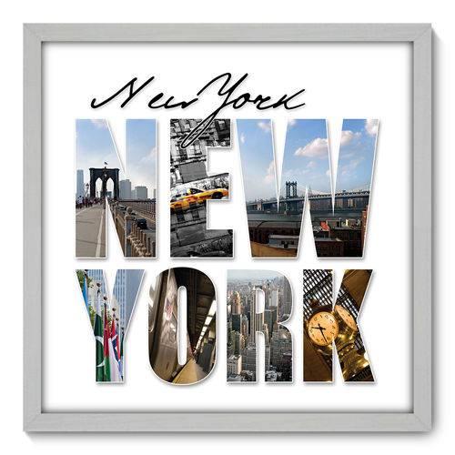 Quadro Decorativo - New York - N3015 - 50cm X 50cm