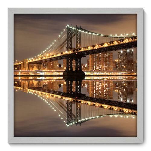 Quadro Decorativo - New York - N3017 - 50cm X 50cm