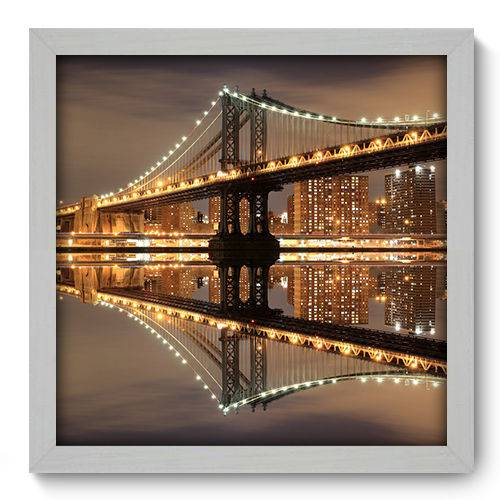Quadro Decorativo New York N2017 33cm X 33cm