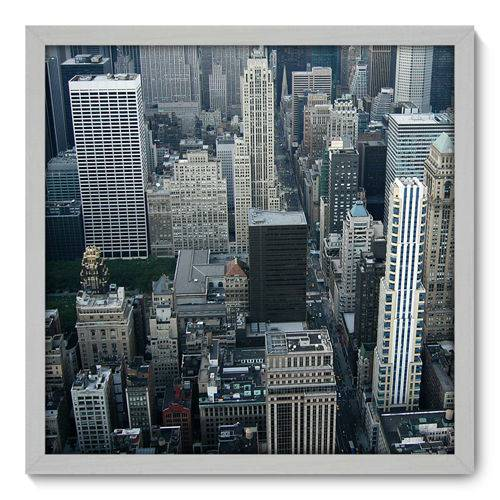 Quadro Decorativo - New York - N3056 - 50cm X 50cm