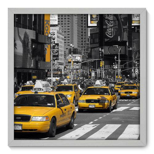 Quadro Decorativo - New York - N3065 - 50cm X 50cm
