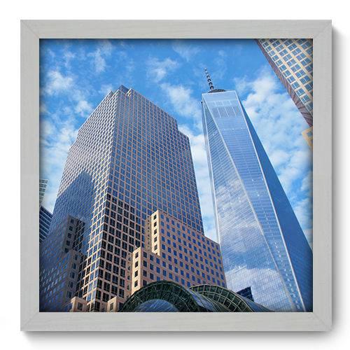 Quadro Decorativo - New York - N2078 - 33cm X 33cm