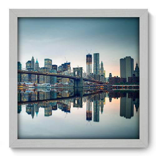 Quadro Decorativo - New York - N2079 - 33cm X 33cm