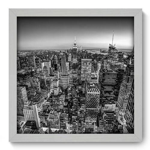 Quadro Decorativo - New York - N2081 - 33cm X 33cm