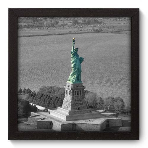 Quadro Decorativo New York N5001 22cm X 22cm