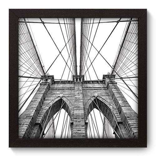 Quadro Decorativo New York N5006 22cm X 22cm