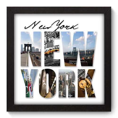 Quadro Decorativo New York N5015 22cm X 22cm