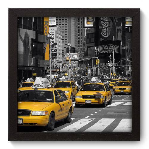 Quadro Decorativo New York N5065 22cm X 22cm