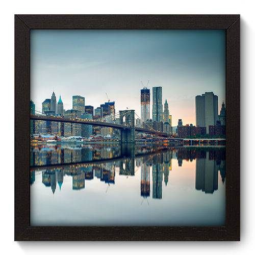 Quadro Decorativo New York N5079 22cm X 22cm