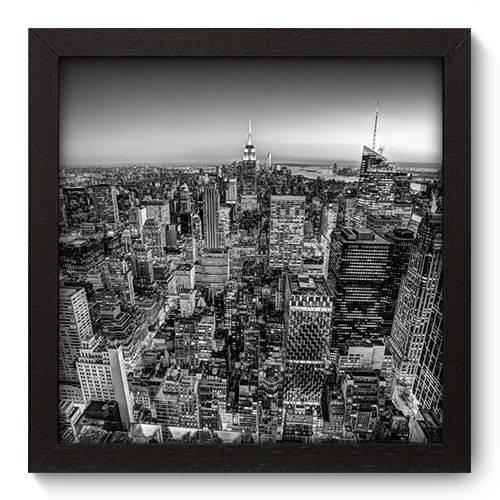 Quadro Decorativo New York N5081 22cm X 22cm
