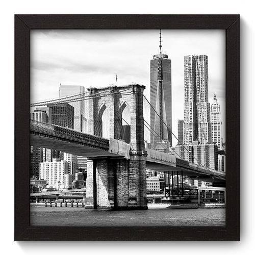 Quadro Decorativo New York N5029 22cm X 22cm