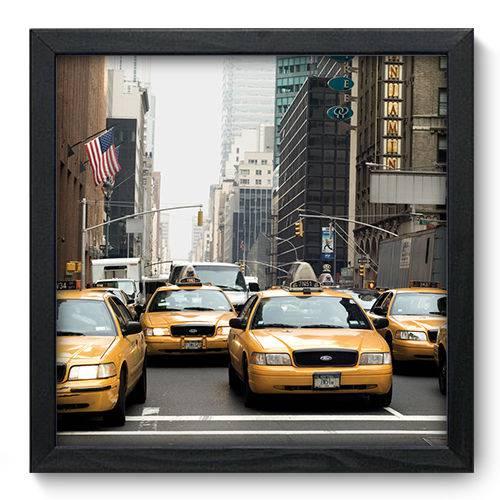 Quadro Decorativo New York N6005 33cm X 33cm