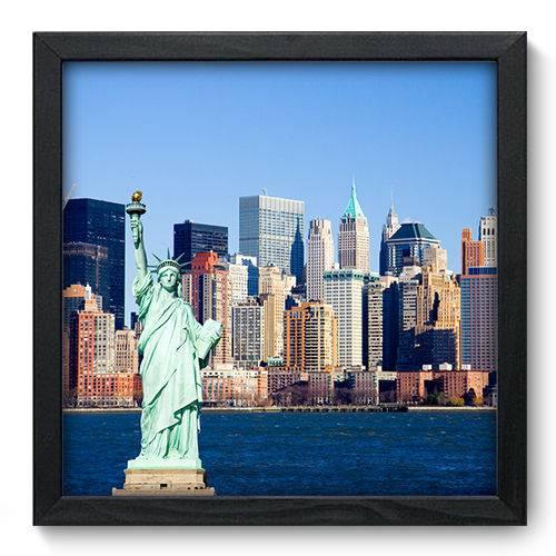 Quadro Decorativo New York N6045 33cm X 33cm