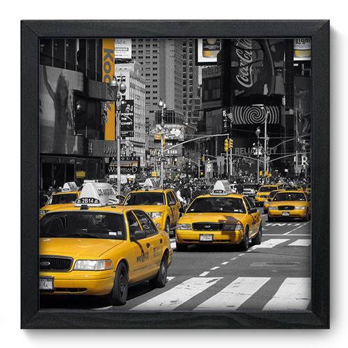 Quadro Decorativo New York N6065 33cm X 33cm