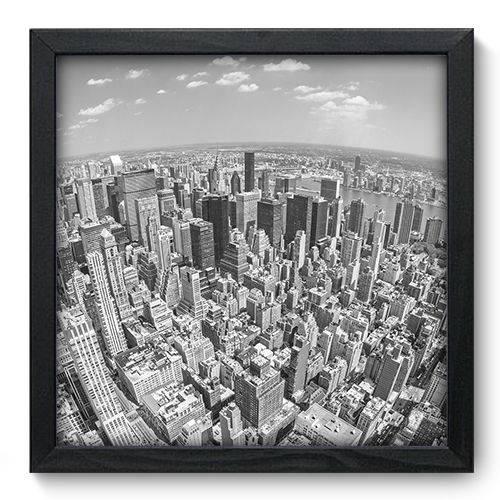 Quadro Decorativo New York N6069 33cm X 33cm