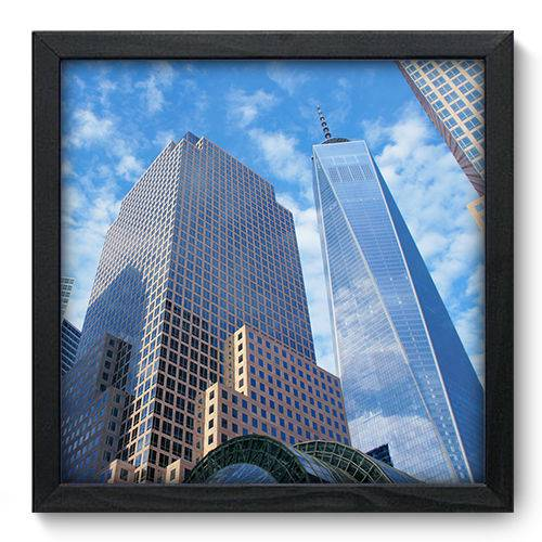 Quadro Decorativo New York N6078 33cm X 33cm
