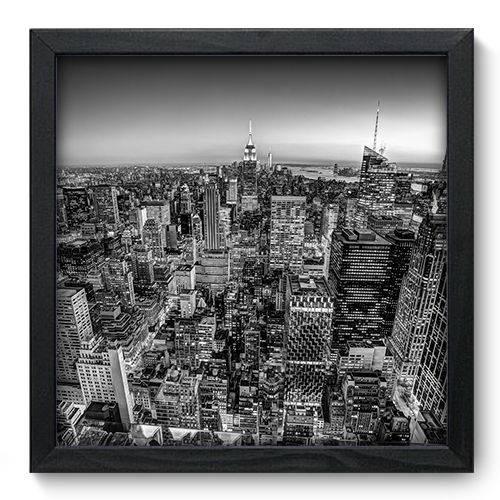 Quadro Decorativo New York N6081 33cm X 33cm