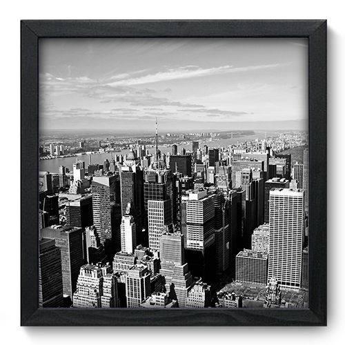 Quadro Decorativo New York N6089 33cm X 33cm