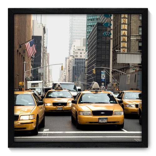 Quadro Decorativo - New York - N7005 - 50cm X 50cm