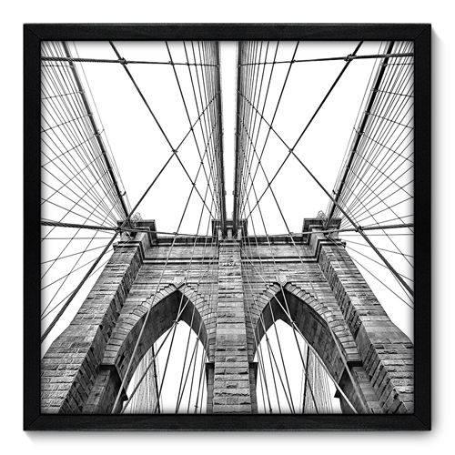 Quadro Decorativo - New York - N7006 - 50cm X 50cm