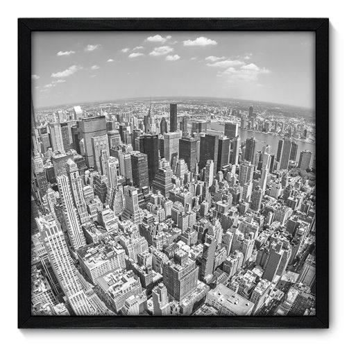 Quadro Decorativo - New York - N7069 - 50cm X 50cm