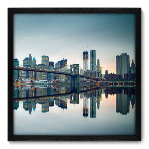 Quadro Decorativo - New York - N7079 - 50cm X 50cm