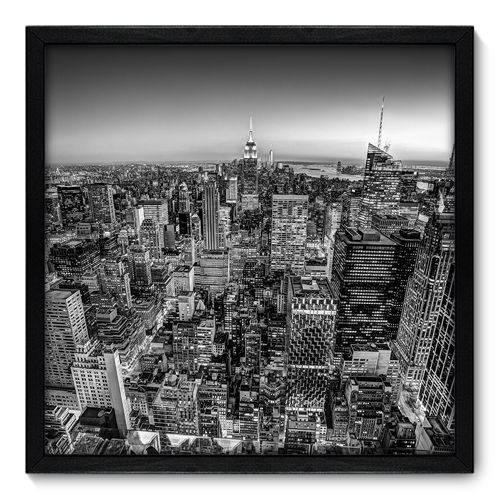 Quadro Decorativo - New York - N7081 - 50cm X 50cm