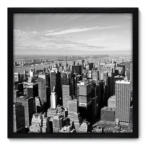 Quadro Decorativo - New York - N7089 - 50cm X 50cm