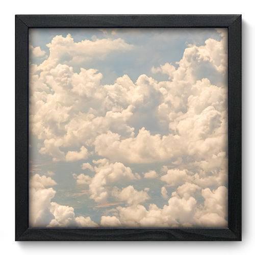 Quadro Decorativo Nuvens N6048 33cm X 33cm