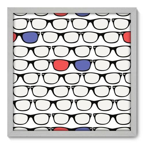 Quadro Decorativo - Óculos - 50cm X 50cm - 095qndcb