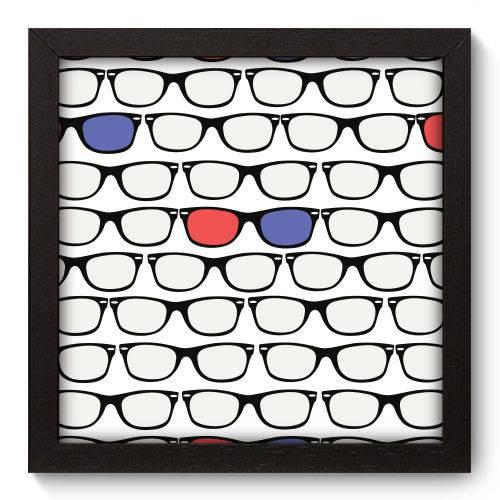 Quadro Decorativo - Óculos - 22cm X 22cm - 095qndap