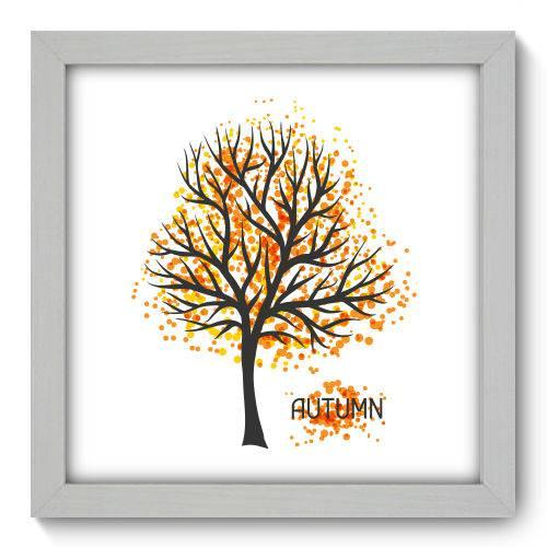 Quadro Decorativo Outono N1080 22cm X 22cm
