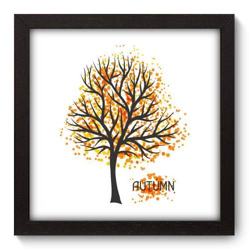 Quadro Decorativo - Outono - 22cm X 22cm - 080qndap