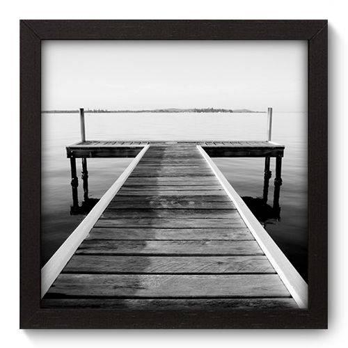 Quadro Decorativo Pier N5017 22cm X 22cm