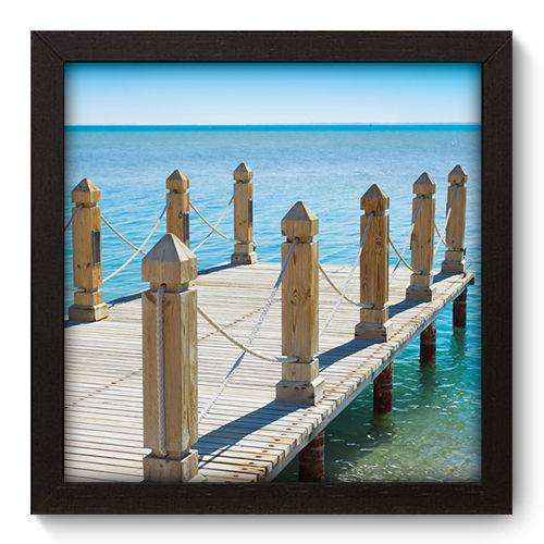 Quadro Decorativo Pier N5018 22cm X 22cm