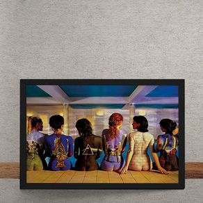 Quadro Decorativo Pink Floyd Putney Pool By Tony May 25x35
