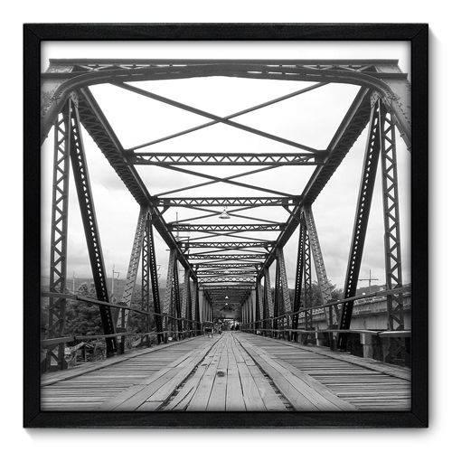 Quadro Decorativo - Ponte - 50cm X 50cm - 091qnpcp