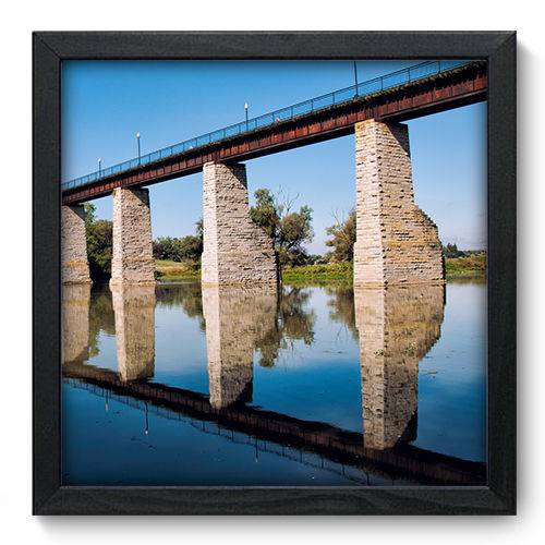 Quadro Decorativo Ponte N6079 33cm X 33cm