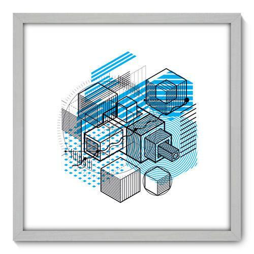 Quadro Decorativo - Projeto - N3122 - 50cm X 50cm