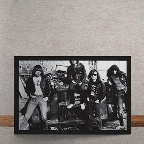 Quadro Decorativo Ramones Rock 25x35
