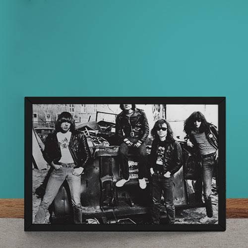 Quadro Decorativo Ramones Rock