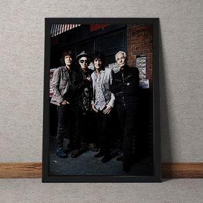 Quadro Decorativo Rolling Stones 35x25