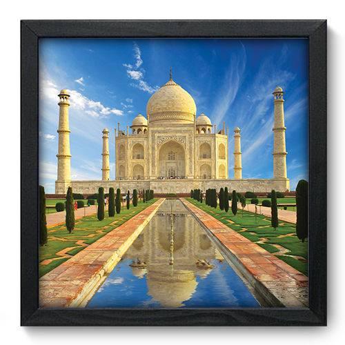 Quadro Decorativo Taj Mahal N6001 33cm X 33cm