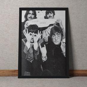 Quadro Decorativo The Beatles 35x25