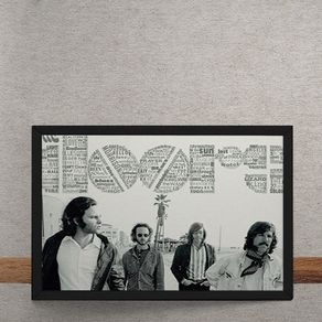 Quadro Decorativo The Doors 25x35