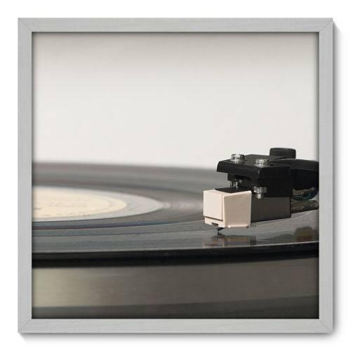 Quadro Decorativo - Toca Discos - N3015 - 50cm X 50cm